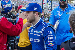 June 9, 2018 - Fort Worth, Texas, U.S - Chip Ganassi Racing driver Ed Jones (10) of United Arab Emirates in action during the DXC Technology 600 race at Texas Motor Speedway in Fort Worth,Texas. (Credit Image: © Dan Wozniak via ZUMA Wire)