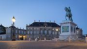 Denmark | Amalienborg Palace in Copenhagen