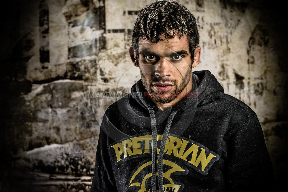 LONDON, ENGLAND, FEBRUARY 13, 2013: Renan Barao poses for a portrait ahead of the pre-fight press conference for UFC on Fuel TV 7 inside London Shootfighters Gym in Park Royal, London, England on Wednesday, February 13, 2013 © Martin McNeil