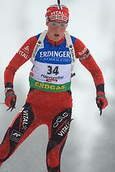 Anne Ingstadbjoerg (NOR) at Women 15 km Individual at E.ON Ruhrgas IBU World Cup Biathlon in Hochfilzen (replacement Pokljuka), on December 18, 2008, in Hochfilzen, Austria. (Photo by Vid Ponikvar / Sportida)