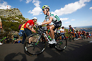 Benjamin King (USA - Dimension Data) during the 73th Edition of the 2018 Tour of Spain, Vuelta Espana 2018, Stage 13 cycling race, Candas Carreno - La Camperona 174,8 km on September 7, 2018 in Spain - Photo Luca Bettini / BettiniPhoto / ProSportsImages / DPPI
