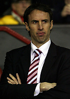 Photo: Paul Thomas.<br /> Manchester United v Middlesbrough. The FA Cup, Quarter Final replay. 19/03/2007.<br /> <br /> Gareth Southgate, manager of Middlesbrough.