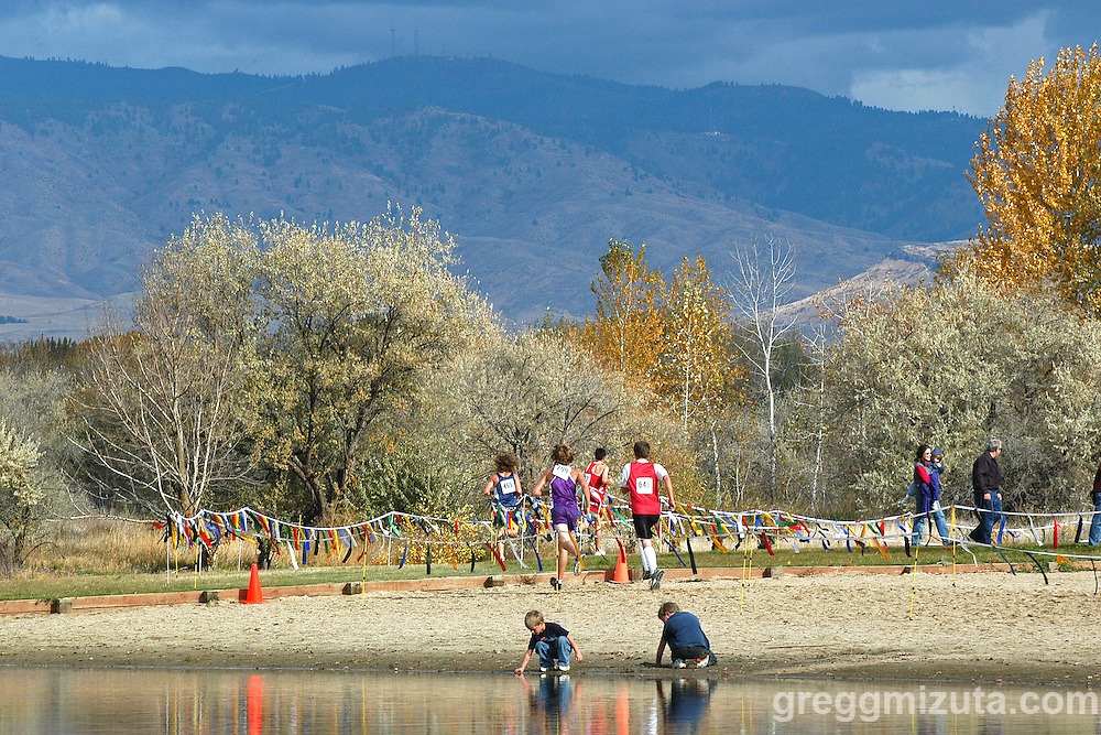 2005 Idaho High School Cross Country State Championships - Eagle Island State Park, Boise, Idaho.