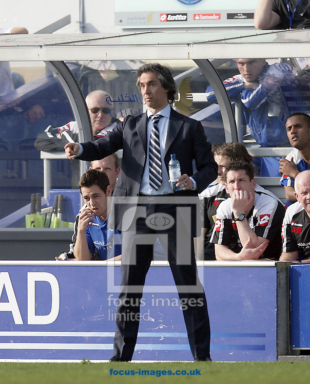 London - Saturday March 21st, 2009: QPR manager Paulo Sousa during the Coca Cola Championship match at Loftus Road, London. (Pic by Mark Chapman/Focus Images)