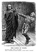 """The dance of death. The Kaiser. """"Stop! Stop! I'm tired."""" Death. """"I started at your bidding; I shop when I choose."""""""