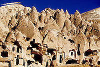 Zelve Open Air Museum, Zelve, Cappadocia, Turkey