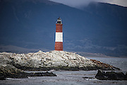 The Ushuaia Lighthouse is said to be the most photographed lighthouse in the world!  It shares a rocky island with a herd of sea lions.