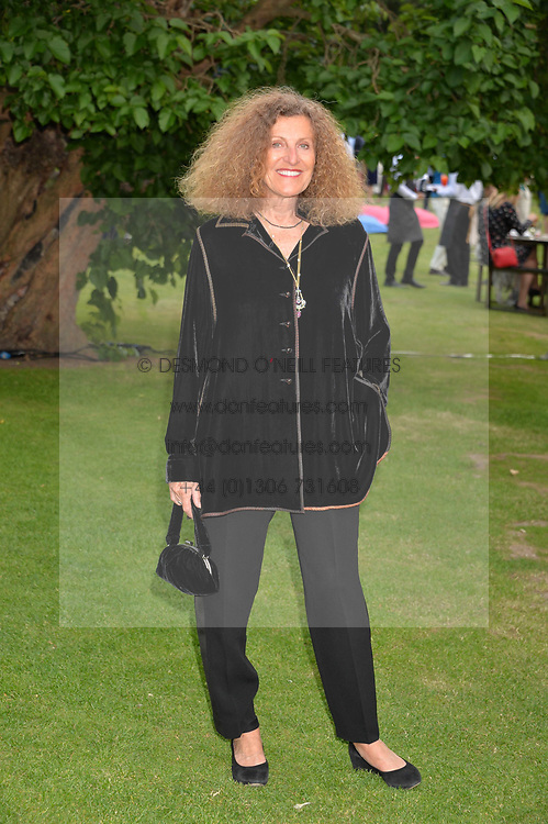 Nicole Farhi at the Dulwich Picture Gallery's inaugural Summer Party, Dulwich Picture Gallery, College Road, London England. 13 June 2017.