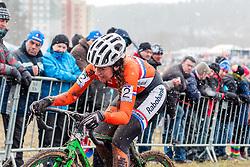 Sophie de Boer (NED), Women Elite, Cyclo-cross World Championships Tabor, Czech Republic, 31 January 2015, Photo by Pim Nijland / PelotonPhotos.com
