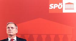 14.03.2016, Gut Brandlhof, Saalfelden, AUT, SPOe, Fruehjahrstagung, Arbeit. Wachstum. Sicherheit, im Bild Bundesminister für Arbeit, Soziales und Konsumentenschutz Alois Stöger (SPÖ) // Austrian Minister of state for employment, social affairs and consumerism Alois Stoeger during convention of the austrian social democratic party in Saalfelden, Austria on 2016/03/14. EXPA Pictures © 2016, PhotoCredit: EXPA/ JFK