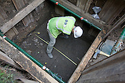 Pembroke College Redevelopment, Archaeological Dig at No 7 & The Studio Brewer Street, Oxford, England by Oxford Archaeology