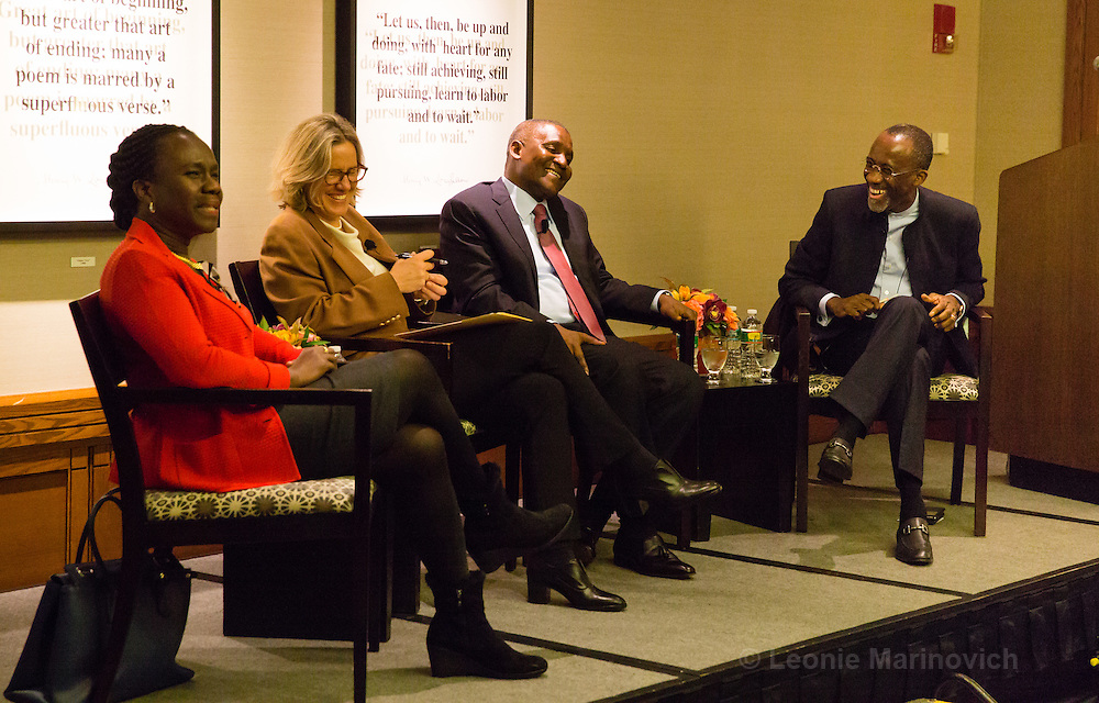 29 October 2015, The Charles Hotel, Cambridge MA. Center for African Studies at Harvard:  Hakeem and Myma Belo-Osagie Distinguished African Business and Entrepreneurship Lecture with Aliko Dangote