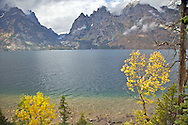 Jenny Lake, Grand Tetons, Fall Colors<br />