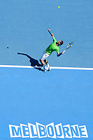 TENNIS - GRAND SLAM - AUSTRALIAN OPEN 2012 - MELBOURNE PARK (AUS) - 18/01/2012 - PHOTO : VIRGINIE BOUYER / TENNIS MAGAZINE / DPPI - DAY 3 - RAFAEL NADAL (ESP)