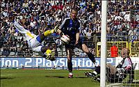 Fotball<br /> Belgia 2003/04<br /> Cupfinale<br /> Beveren v Club Brugge<br /> 23. mai 2004<br /> Foto: Digitalsport<br /> NORWAY ONLY<br /> <br /> NDRI ROMARIC - DANY VERLINDEN