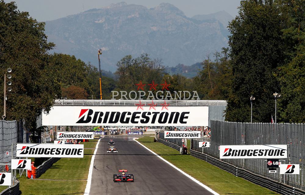 Motorsports / Formula 1: World Championship 2010, GP of Italy, Monza, 02 Lewis Hamilton (GBR, Vodafone McLaren Mercedes),