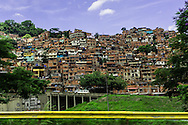 2016/05/26 - Caracas, Venezuela: View of Petare slum in Caracas. Petare is consider one of the biggest and dangerous slums of Latin America. (Eduardo Leal)