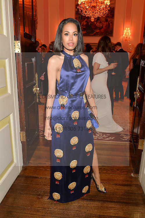 JADE EWEN at the Tatler Best of British party in association with Jaegar held at The Ritz, Piccadilly, London on 28th April 2015.