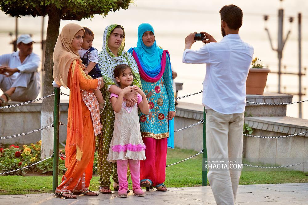 Srinagar Town of Kashmir, India