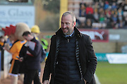 Shaun Derry during the EFL Sky Bet League 2 match between Cambridge United and Cheltenham Town at the R Costings Abbey Stadium, Cambridge, England on 26 November 2016. Photo by Antony Thompson.