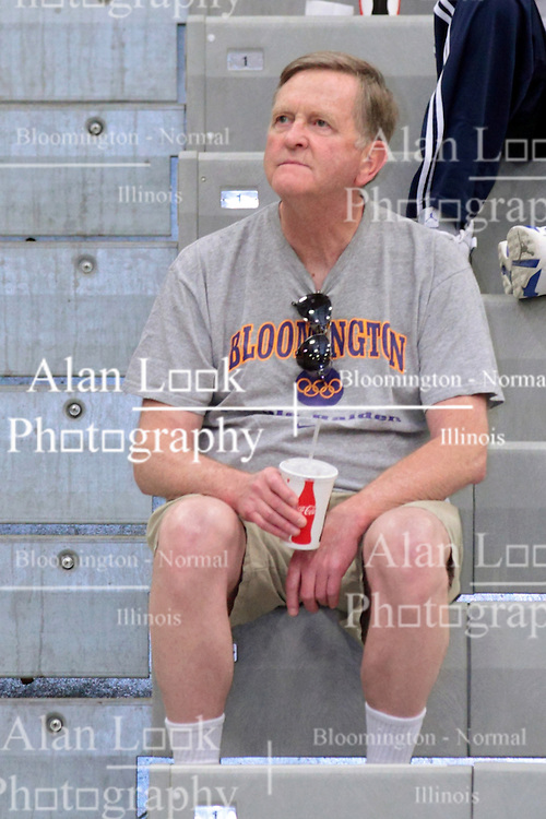 28 June 2014:   Jim Bennett.  2014 Boys Illinois Basketball Coaches Association All Start game at the Shirk Center in Bloomington IL