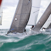 2016 in Sotogrande, SPAIN - JAN 17:  during day two of V Circuito Grupo Trocadero de J/80 at Sotogrande on January 17, 2016. (Photo by Jesus DYañez)