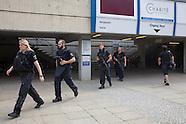 Shooting Berlin University Hospital