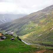 Swiss-Italian border at Spluga.
