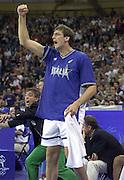 Olimpiadi Sydney 2000<br /> Italia - Lituania <br /> Nella foto: Denis Marconato