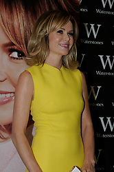 """© Licensed to London News Pictures. 26/10/2013<br /> Amanda Holden dressed in Yellow at Waterstones book shop in the Bluewater Shopping Complex in Kent (today 26.10.2013) for a book signing of her new book <br />  """"No Holding Back"""" .<br /> Photo credit :Grant Falvey/LNP"""