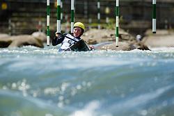 Eva Alina Hocevar during the Kayak Single (C1) Men race of Tacen Cup 2020 on May 24, 2020 in Tacen, Ljubljana, Slovenia. Photo By Grega Valancic / Sportida
