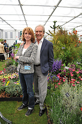 JANE ASHER and GERALD SCARFE at the 2011 RHS Chelsea Flower Show VIP & Press Day at the Royal Hospital Chelsea, London, on 23rd May 2011.