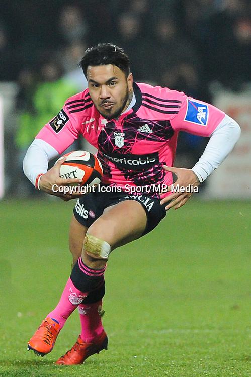 Digby Ioane - 02.01.2015 - Lyon OU / Stade Francais - 15eme journee de Top 14 <br />Photo : Jean Paul Thomas / Icon Sport
