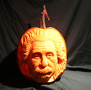 "Amazing Pumpkin carvings by Scott Cummings<br /> <br /> Pumpkin carving has been a longtime Halloween tradition for many, but there is one artist who takes this art form to completely new heights.<br /> <br /> From an uncannily picture-perfect rendition of ""The Dude"" from the film The Big Lebowski to sinister and whimsical pumpkin faces with crooked grins and glaring eyes, these are just some of the intricately detailed pumpkin carvings you will find in Scott Cummins' oeuvre. Taking no more than two hours to render a work complete, Cummins carefully works his magic on the rind of the pumpkin with the help of his peeling knives and wood carving tools. And while you might think that Halloween would be his favorite holiday, the self-proclaimed Pumpkin Gutter says that it is far from it, despite the fact that the fruit is aplenty this time of year. For Cummins, the goosebump rising holiday merely reminds him of the few remaining days his carvings have left to come to life, seeing as pumpkin season ends rather abruptly for the cream of the crop after the last of the trick-or-treaters has settled in after their dizzying candy high.<br /> ©Scott Cummings/Exclusivepix"