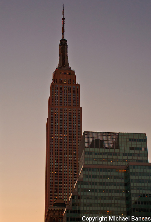 The Empire State Building In Manhattan New York
