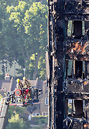 London: Grenfell Estate Tower Block Fire Aftermath - 16 June 2017