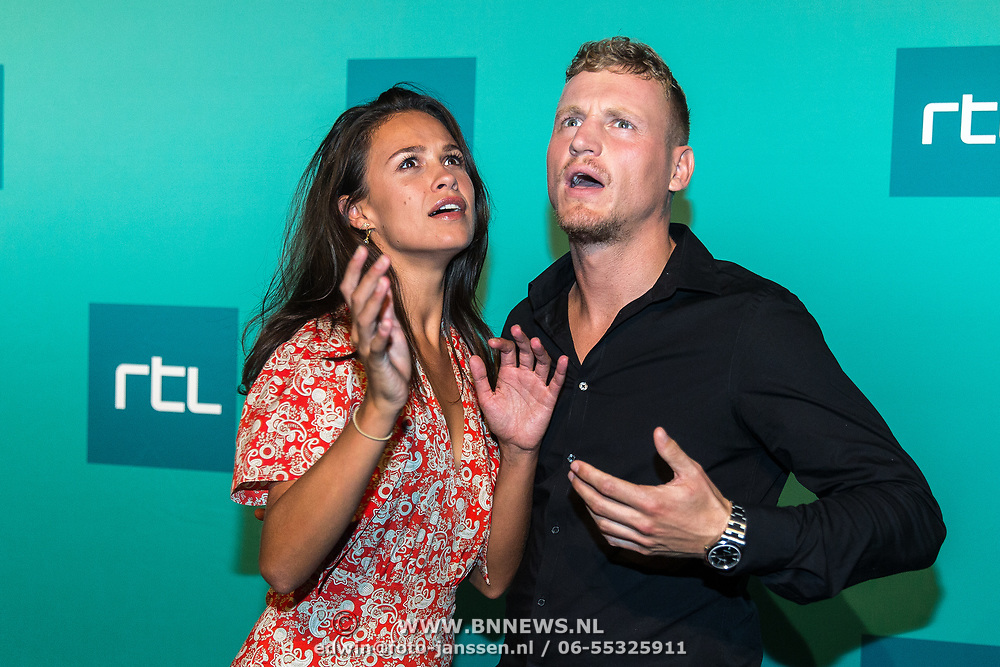 NLD/Halfweg20190829 - Seizoenspresentatie RTL 2019 / 2020, Kaj Gorgels en Holly Mae Brood