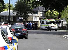 Auckland-Body found at incident, Te Atatu