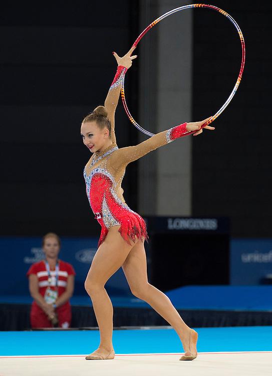 Glasgow, JULY 24, 2014: Judo, men's and women's; rhythmic gymnastics (all around gold), weightlifting (Jessica Ruel)