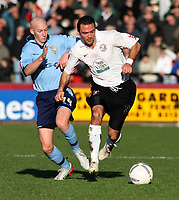 Photo:Mark Stephenson,Hereford united v Port vale.<br />