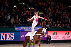 MOHAR Marina (SUI), For Ever du Chalet CH<br /> Leipzig - Partner Pferd 2019<br /> FEI Vaulting World Cup<br /> 2. Umlauf<br /> Damen / Female<br /> 19. Januar 2019<br /> © www.sportfotos-lafrentz.de/Stefan Lafrentz