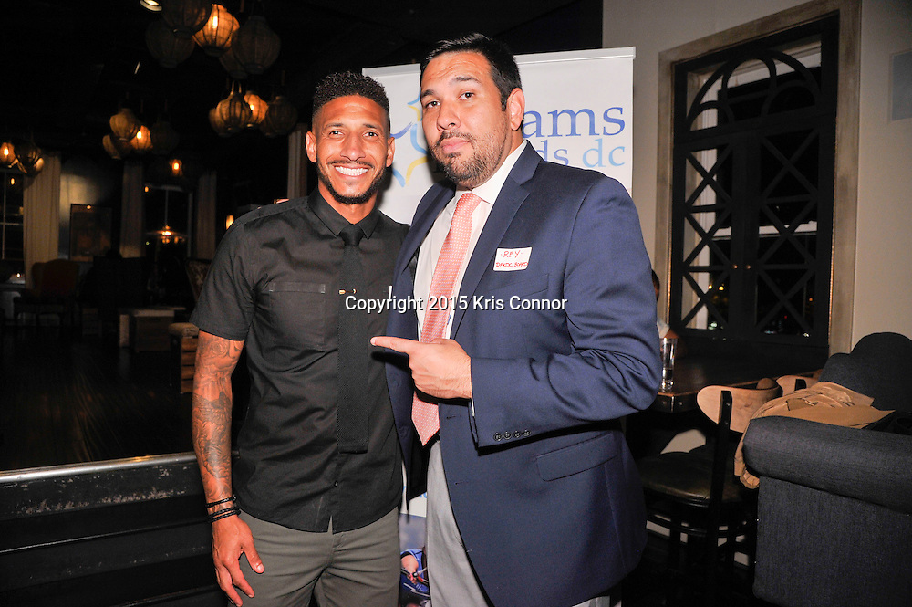 Guest attend the Kick Off to DFKDC Soccer fundraiser and happy hour at Provision 14 on October 16, 2015 in Washington DC