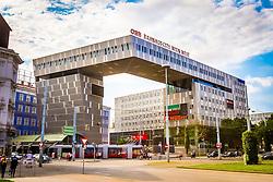 THEMENBILD – Der Westbahnhof ist einer der zwei groeßten Bahnhoefe in Wien und bildet als Kopfbahnhof den Ausgangspunkt der Westbahn. Das Bild wurde am 1. August 2014 aufgenommen // THEMES IMAGE – The Westbahnhof in Vienna is one of the two biggest railway station in Vienna und is the starting point of the Westbahn. The image was taken on the August 1, 2014. EXPA Pictures © 2014, PhotoCredit: EXPA/ Sebastian Pucher