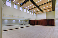 The Festival Room, which can serve as a rehearsal space within Memorial Union in 2014.  This room can be found on the lower level, near Wheelhouse Studios.