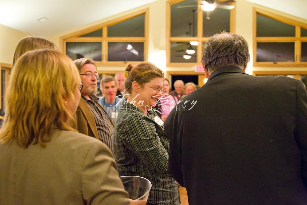 Madison County Habitat for Humanity Chinese Auction at Ducard Vineyards, Etlan, VA.  December 1, 2011.