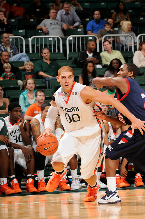 2009 University of Miami Men's Basketball vs Robert Morris