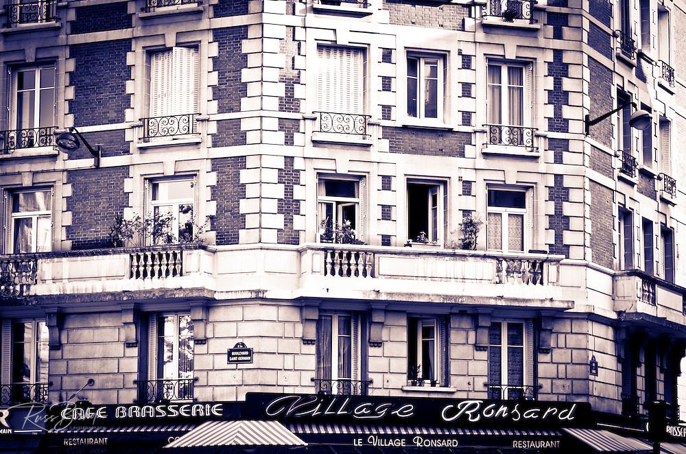 Le Village Ronsard Restaurant, Left Bank, Paris, France
