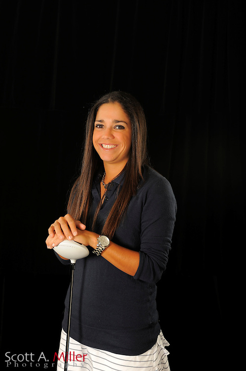 Gloriana Soto during a portrait shoot prior to the Symetra Tour's Florida's Natural Charity Classic at the Lake Region Yacht and Country Club on March 19, 2012 in Winter Haven, Fla. ..©2012 Scott A. Miller.