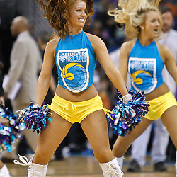 February 1, 2011; New Orleans, LA, USA; New Orleans Hornets Honeybees dancers perform during the second quarter of a game against the Washington Wizards at the New Orleans Arena.   Mandatory Credit: Derick E. Hingle