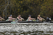 Boston, Massachusetts,  Women's Championship eights, Cambridge University, competing in the  Forty Second, [42nd] Head of the Charles, 22/10/2006.  Photo  Peter Spurrier/Intersport Images...[Mandatory Credit, Peter Spurier/ Intersport Images] Rowing Course; Charles River. Boston. USA